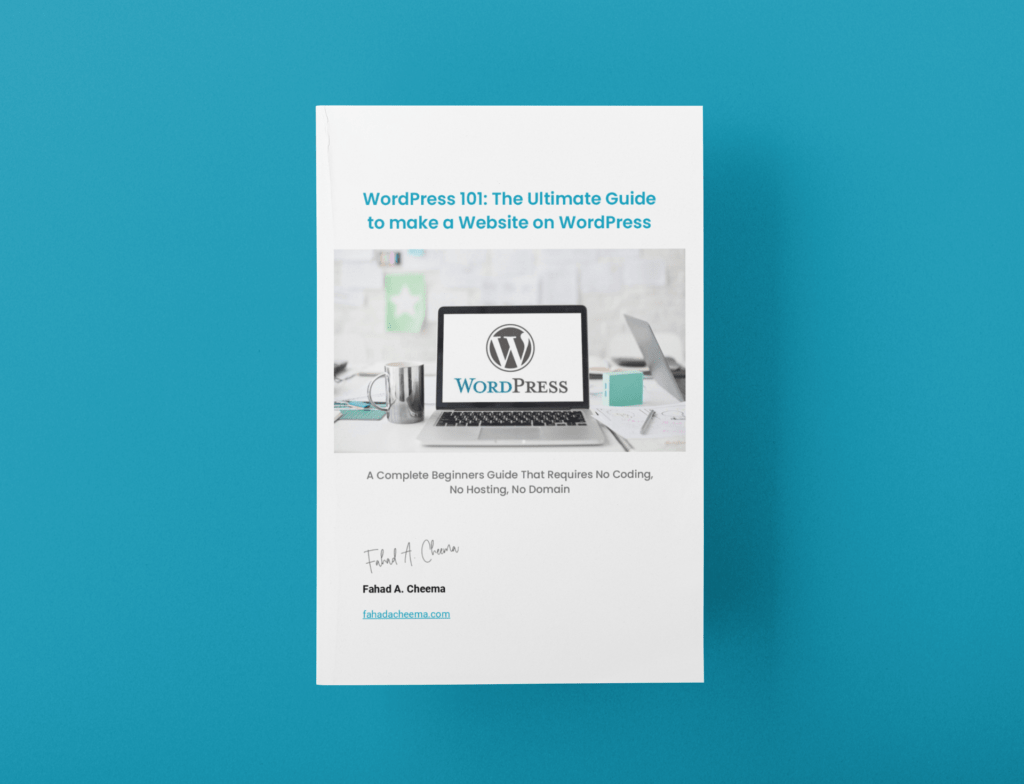 WordPress 101: The Ultimate Guide to Make a Website on WordPress